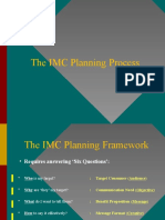 Session 2 -  The IMC Planning Process