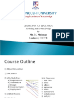Lecture 1 modelling and system design