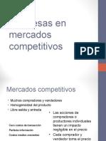 Empresas en mercados competitivos