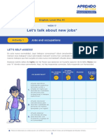 Let's talk about new jobs-Activity 1