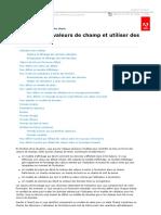 AEM forms _ Formater des valeurs de champ et utiliser des modèles.pdf