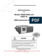 7500Z 7600Z Service Manual