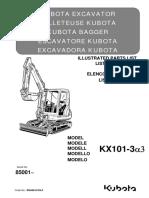 Parts list catalog Kubota RG648-8139-0_KX101-3a3.pdf