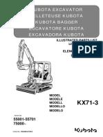 Parts list catalog Kubota RG448-8139-0_KX71-3.pdf