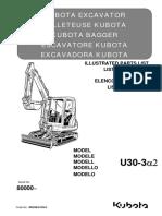 Parts list catalog Kubota U30-3α2 RH538-8139-0_ .pdf