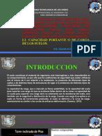 UNIDAD TEMATICA N°02 CLASE 05 CAPACIDAD CARGA , TIPOS DE FALLAS.pptx