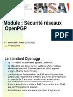 2019 2020 Cours 2 OpenPGP MRI4a Secu SI Promo 2021 V1