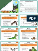 Pet Show Yoga Instruction Cards
