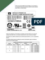 OBSERVACIONES DE INSTALACION E-9000