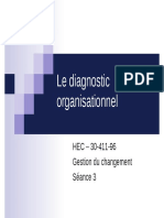 Le diagnostic organisationnel