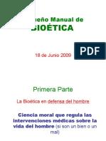 Pequeno Manual de Bioetica