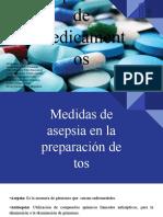 PREPARACIÓN DE MEDICAMENTOS.