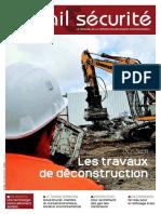 Les travaux de déconstruction