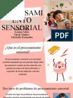 ppt procesamiento sensorial