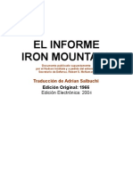 El Informe Iron Mountain
