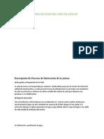 DIAGRAMA DE FLUJO DE CAÑA DE AZUCAR