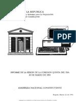 Informe_de_la_sesin_de_la_Comisin_Quinta_del_da_20_de_marzo_de_1991