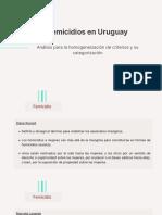 Femicidios en Uruguay