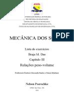 Resolução Braja M Das - 7ª Ed - Capítulo 03 - Relações peso-volume.docx