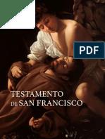 Testamento de San Francisco de Asis