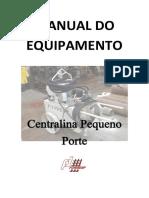 Manual Centralina de macaco hidráulico