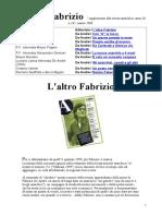 L altro Fabrizio anarchico