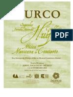 Programa SURCO Zacatecas 2011