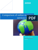 Comparison of online mapping services in India
