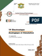 TP Electronique Analogique TS 2018-2019