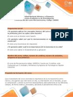 Plantilla word para la presentación de curso - Microeconomía