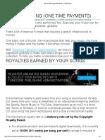 13 diferentes maneras de hacer dinero con tu musica