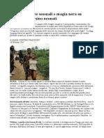 Congo, violenze sessuali e magia nera su bambine