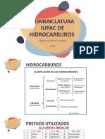 NOMENCLATURA DE HIDROCARBUROS