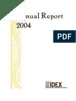 2004 Idex Annual Report
