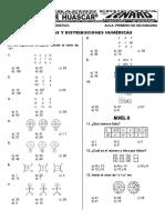 1ro - Analogías y Distribuciones Numéricas