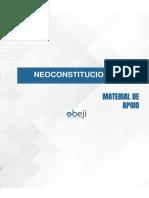 01 -  Direito Constitucional - Constitucionalismo e Neoconstitucionalismo