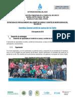 Estrategia de Fortalecimiento del Comite de Cuenca
