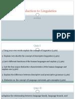 Introduction to Linguistics quizzes  2.pptx