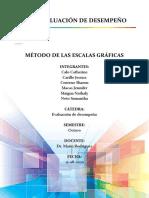 MÉTODO DE ESCALAS GRÁFICAS