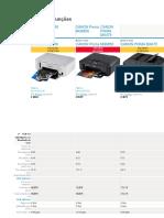 impressoras comparativo