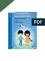 Dos Pequeñas Gatas Japonesas-De Paula Bombara Editorial Norma Torre Azul