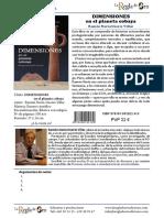 DIMENSIONES en el planeta cobaya - Ramón Navia-Osorio Villar (Ficha Técnica)