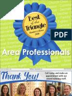 Best Area Professionals 2020