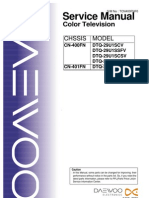 DAEWOO  (CN-400FN-401FN) service manual