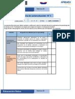 FICHA AUTOEVALUACION ESTUDIANTE -3°-4°-5°