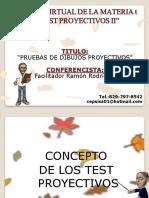 CHARLA VIRTUAL sobre los Test Proyectivos II (1)