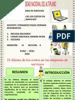 DILEMA DE LAS EMPRESAS DE SERVICIO