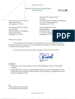 Ratcliffe Letter to HPSCI & SSCI - October 6, 2020
