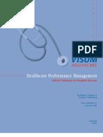 HealthcarePerformanceManagement