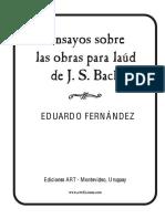 Ensayo sobre las obras para laúd de J. S. Bach